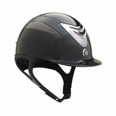 One K Defender Gloss PAS015 Riding Jumping Competition Helmet Removable Liner