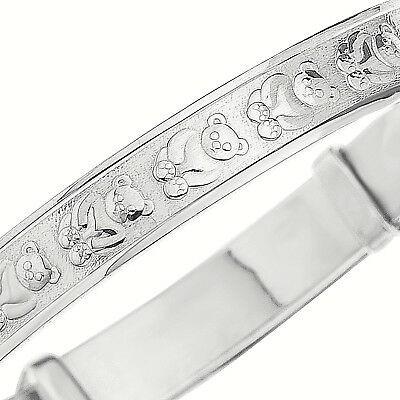 925 Silver Expanding Baby Bangle Christening Birthday Bridesmaids Present Boxed