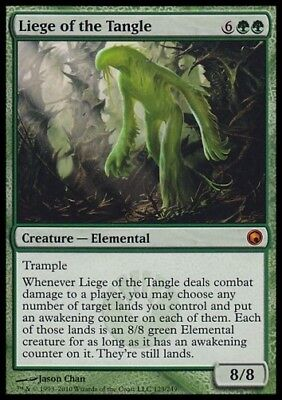 MTG 1x LIEGE OF THE TANGLE -Scars of Mirrodin *Myth NM*
