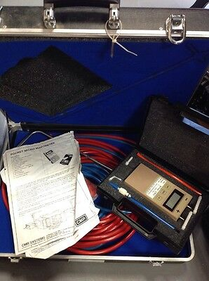 C H R Pocket Micro Manometer And Pitot Tube Testing Equipment MH5
