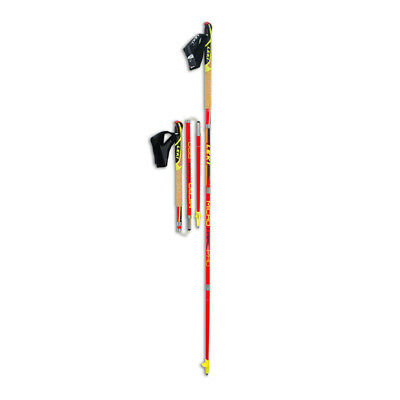 Leki Micro Mens Red Lightweight Trail Outdoors Pro Pole 115cm