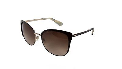 d2a3fc7d08fee Kate Spade New York Genice Sunglasses Brown Gold and Tortoise Brown Gradient