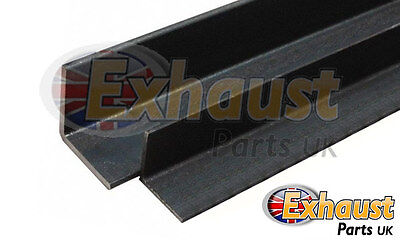 Angle Iron Mild Steel 25mm x 25mm x 3mm - 250mm Long