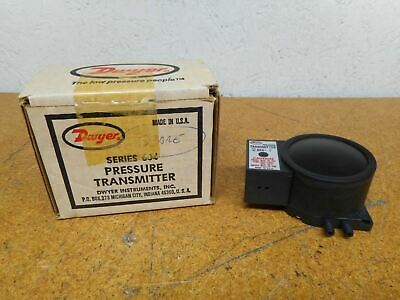 Dwyer 604-2 Series 604 Pressure Transmitter 50PSI New In Box