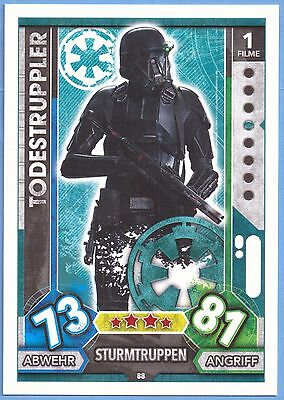 Topps Star Wars Force Attax Universe Karte Nr.88 Todestruppler
