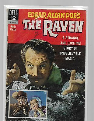 THE RAVEN/ Vincent Price photo cvr and  Jack Nicholson in his first movie/1963