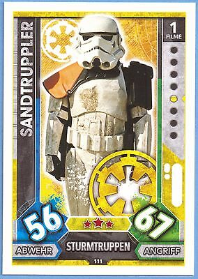 Topps Star Wars Force Attax Universe Karte Nr.111 Sandtruppler