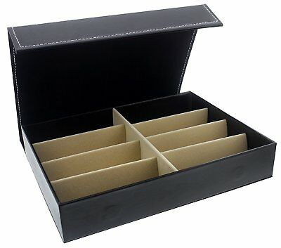 Glasses Display Case - 8 slot Rack Stand Storage Tray for Eyewear Sunglasses, -
