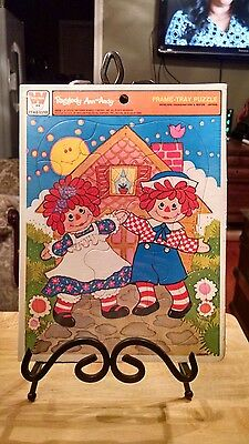 """New Raggedy Ann and Andy 11x8"""" puzzle. From 1976."""