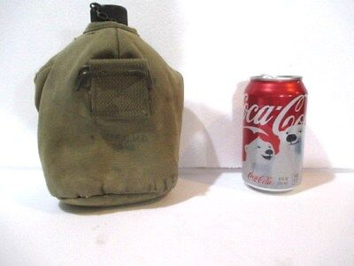 WWII US Vintage Canteen and Khaki Cover from 1942 US Army