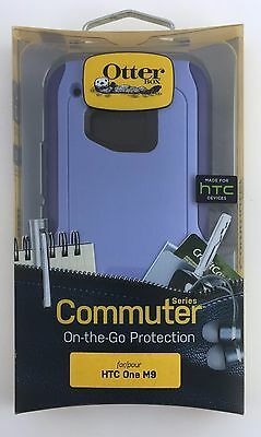 OtterBox Commuter case for HTC One M9 Purple / Amethyst New Other, Free Shipping