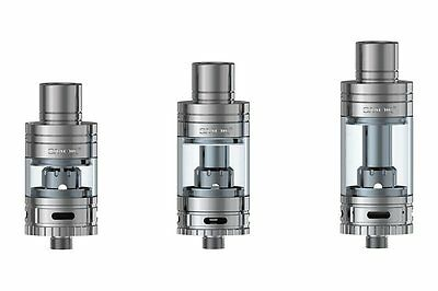 SMOK TFV4 SERIES TANK In Black / Silver Colour - LIMITED QUANTITY