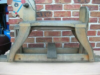 Child's Timber Rocking Horse
