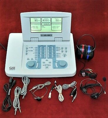 Grason Stadler Gsi 61 Diagnostic Clinical Audiometer,  Two  Channel.