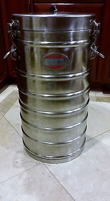 AerVoid Vacuum Can 11 gal stainless steel USA Food Carrier