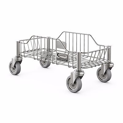 Stainless Steel Dolly for Suncast Commercial Slim Trash Cans, 23 Gallon