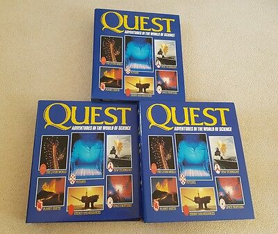 QUEST ADVENTURES IN THE WORLD OF SCIENCE Issues 1-60 COLLECTOR BINDER KIDS RETRO