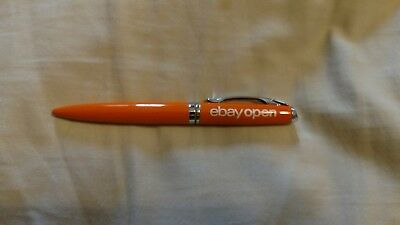 Ebay Open 2017 Orange pen