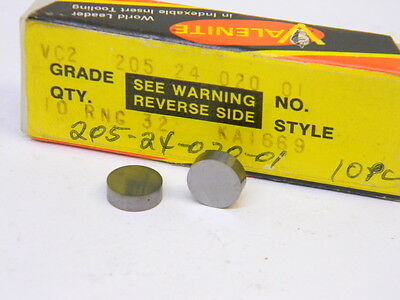 Prestige Indexable Turning Inserts RNG32 C6 Carbide Qty 10 #2043-8224