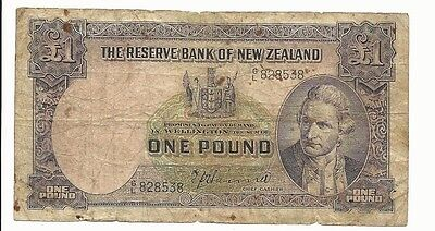 The Reserve Bank of New Zealand 1 pound #8538