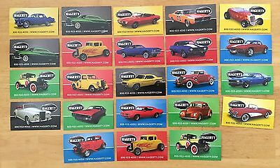Automotive TOOLBOX / FRIDGE Magnets lot of 23! GENERAL LEE, Corvette HAGERTY