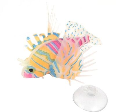 Sourcingmap Fish Tank Suction Cup Simulation Underwater Floating Lionfish