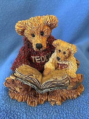 BEARS!  Boyds Style 2226 Ted & Teddy RETIRED VINTAGE 12E/363