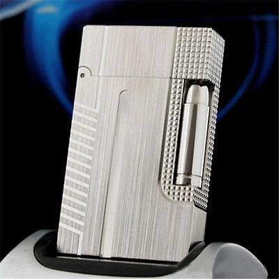 new Memorial S.T Dupont Lighter Bright Sound Lacquer Bond 007 Lighters Silver