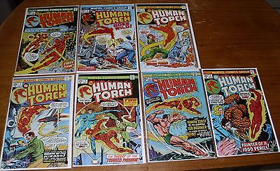 Human Torch # 1, 2 and 4 - 8