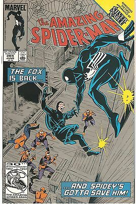 The Amazing Spider-Man #265 (Jun 1985, Marvel) Silver Cover (2nd Printing)