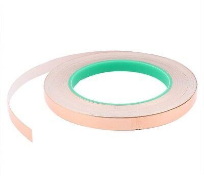 Sourcingmap 10mm X 30m Two Side Adhesive Copper Foil Tape For EMI Shielding