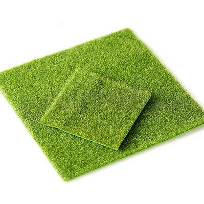 Artificial Grass Fake Lawn Simulation Miniature Garden Ornament