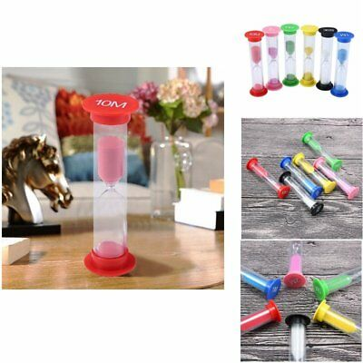 30 sec 1 2 3 5 10 minutes set of 6 colorful sandglass hourglass sand