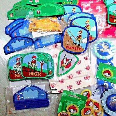 Lot of 100+ Vintage Boy Scouts of America Badges Patches Mixed Lot All Are NEW!