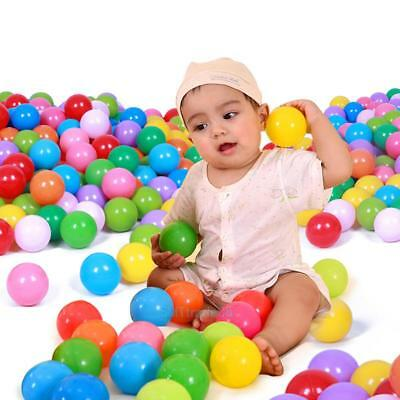 100pcs colorful ball Soft Plastic ocean ball funny baby kids Swim Pit Pool 5.5cm