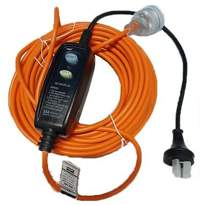 Extension Lead with BUILT-IN RCD Safety Switch 18M (3 Core) All Power Equipment