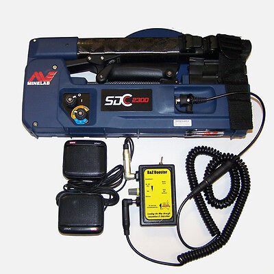 B&Z Booster Kit to suit the SDC2300 Minelab Metal Detector
