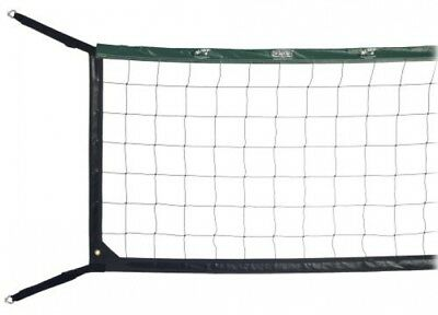 19ft Competition Wallyball Net Easily Attaches to Wood or Concrete Court Walls