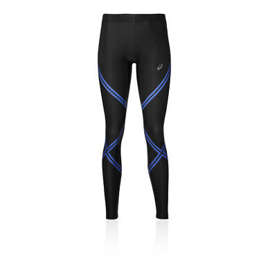 Asics Essentials Womens Black Compression Running Long Tights Bottoms Pants