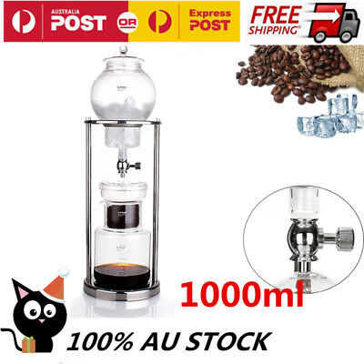 Dutch Coffee Cold Drip Water Drip Coffee Maker Serve  1000ml