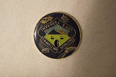 Collectable - Inverell East - Travelling Bowlers - Members Badge.