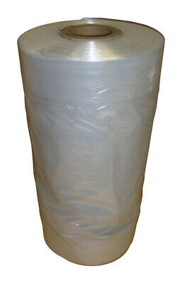"325 Bags - 1 roll of 36"" 100g Polythene Garment Rolls Bags Dry Cleaning Ironing"