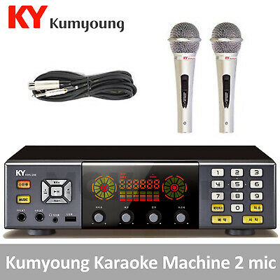 KumYoung KHK-200 Home Party Korean Karaoke Machine System 2 Mic