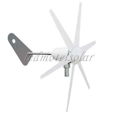 300W Wind turbine & 12V/24V controller 6 Blade type Photovoltaic Axis Series