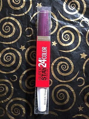 Maybelline 24Hour Color  Superstay Shade 363 All Day Plum