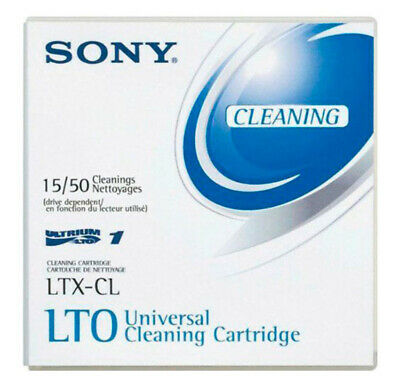 Sony Universal Cleaning Cartridge LTX-CL Ultrium LTO Tape Drives up to 50 Times