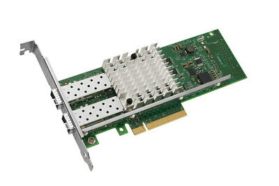 Intel X520-DA2 10GbE Dual port Server Adapter PCIe v2.0 SFP+ Low Profile VMDq