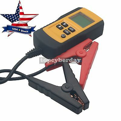 AE300 LCD Digital Car Battery Tester Load Life Analyzer Automotive Diagnostic US