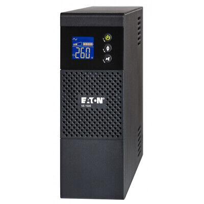 Eaton 5S1600AU 1600VA 960W Line Interactive Tower UPS AVR Booster 6x10A Out LCD