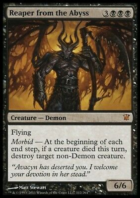 MTG 1x REAPER FROM THE ABYSS - Innistrad *Rare DEUTSCH GERMAN NM*
